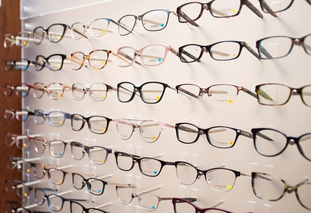 English Rows Eye Care Frame Selections
