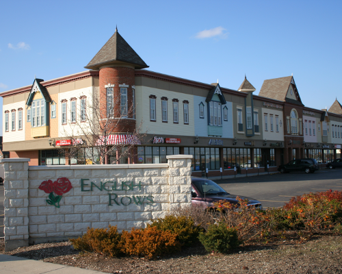 English Rows Eye Care Building