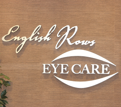 English Rows Eye Care Office Logo